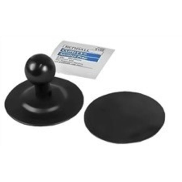 Flex 1'' Ball Mount with 2.5'' Adhesive