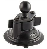 Yak-Attack RAM Mounts® Suction Cup w/Diamond Base w/1'' Ball incl Hardware