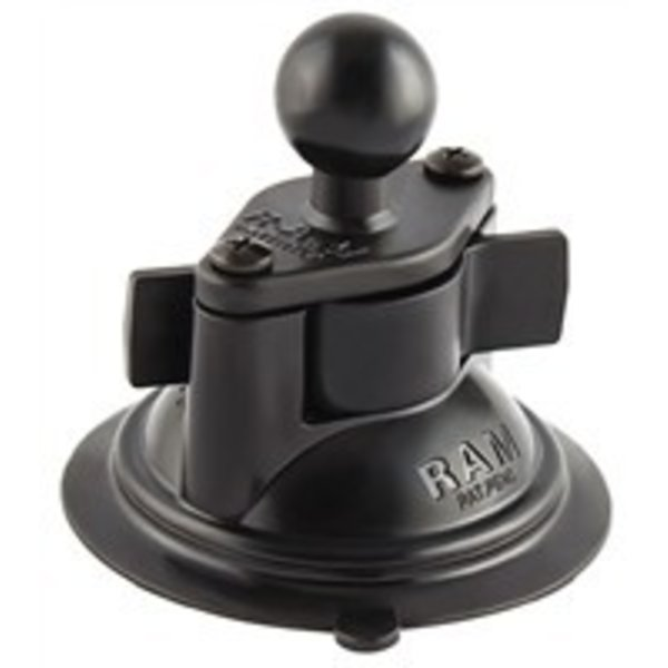 RAM Mounts® Suction Cup w/Diamond Base w/1'' Ball incl Hardware