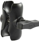 Yak-Attack (Discontinued) RAM Mounts (3.5'') Aluminum Double Socket Arm for 1.5'' Ball Interface