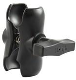 "RAM Mounts® (3.5"") Aluminum Double Socket Arm for 1.5"" Ball Interface"