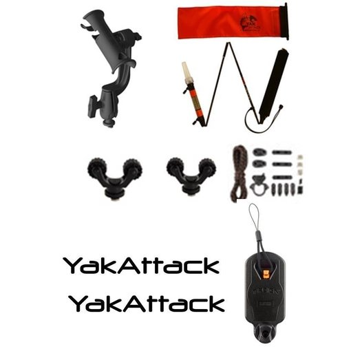 Yak-Attack (Discontinued) Adv Angler Kit Yak-Attack