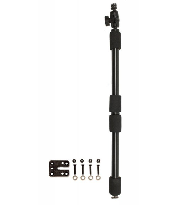 Yak-Attack PanFish Camera Pole, GoPro Ready, includes Mighty Mount and Mounting Hardware