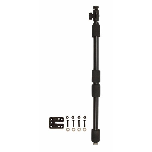 Yak-Attack PanFish Camera Pole, Includes Mighty Mount and Mounting Hardware, 1/4-20 Camera Ball