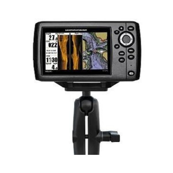 (Discontinued) Screwball Combo, RAM Mounts® Humminbird Helix 5, Includes composite connector and 1.5'' Screwball