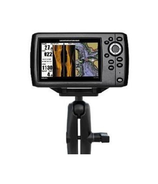 Yak-Attack Screwball Combo, RAM Mounts® Humminbird Helix 5, Includes composite connector and 1.5'' Screwball