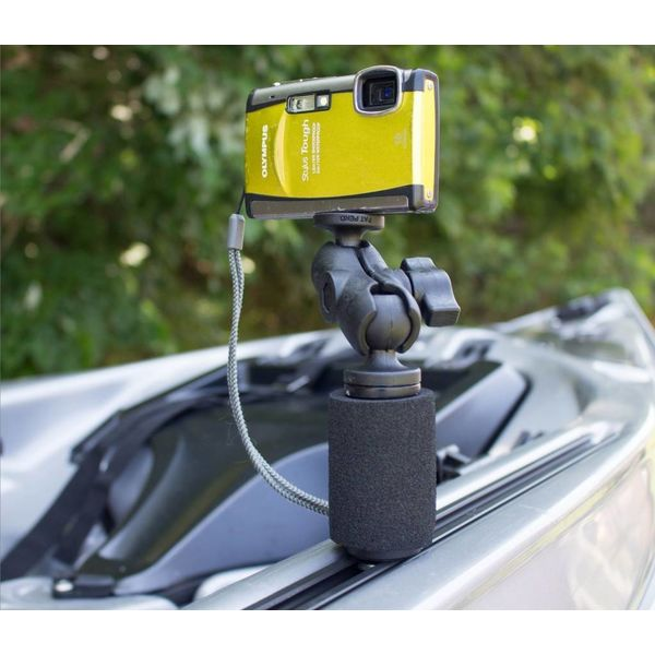 PanFish Portrait Camera Mount with Mighty Mount and Mounting Hardware, 1/4-20 Camera Ball
