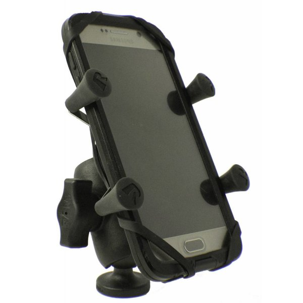 Screwball Combo, RAM Mounts® Universal X-Grip mount for Smartphones and small electronics, Includes composite connector and 1'' Screwball