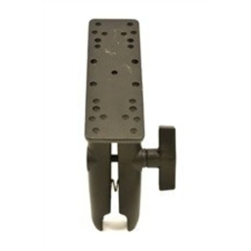Yak-Attack (Discontinued) RAM Mounts Universal Electronics Mount, 6 1/4'' X 2'', Includes composite connector, fits 1.5'' Ball Interface, No Base