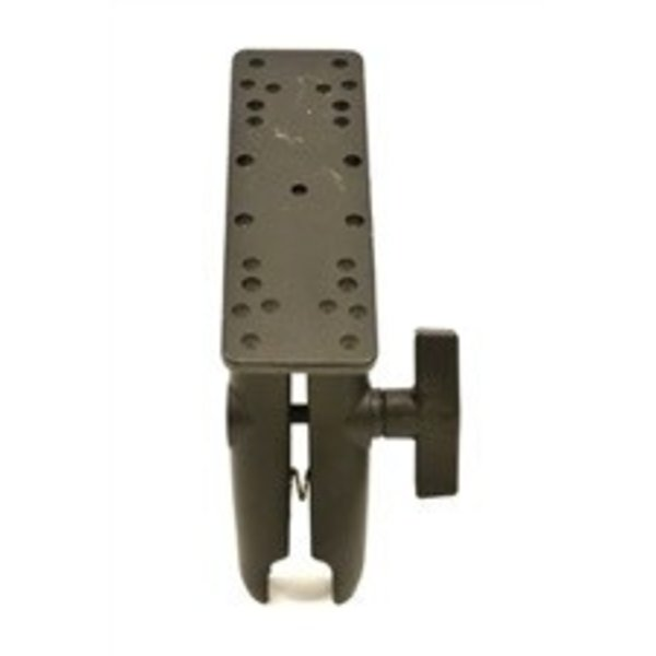 "Universal Electronics Mount, 6 1/4"" X 2"", Includes composite connector, fits 1.5"" Ball Interface, No Base"