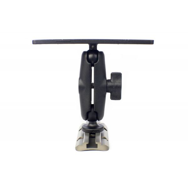 (Discontinued) Screwball Combo, Universal electronics Mount, 6 1/4'' X 2'', Includes composite connector arm and 1'' Screwball