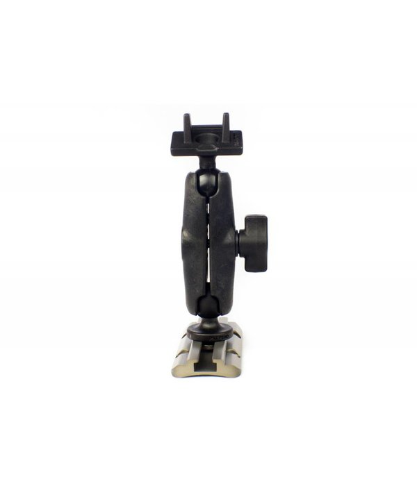 """Yak-Attack Screwball Combo, RAM Mounts® Ball Mount for Lowrance Elite-4 & Mark-4 Series Fishfinders, Includes composite connector and 1"""" Screwball."""