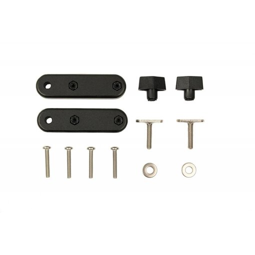 Yak-Attack (Discontinued) Bracket set, attach Hobie H Bar to GearTrac and other track systems