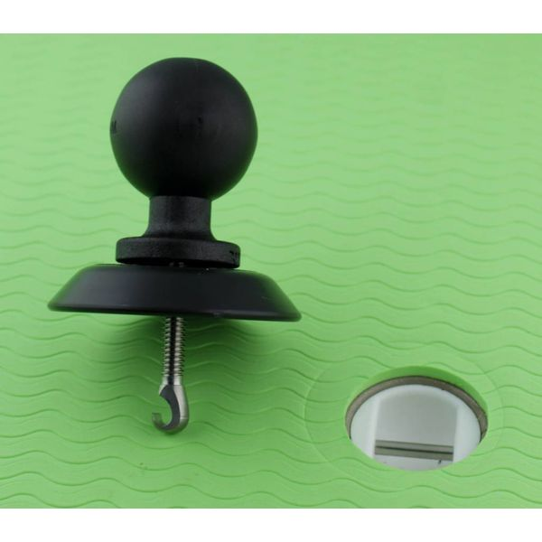 Leash Plug Adapter and Base 1.5'' Ball