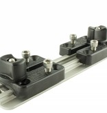 Yak-Attack MightyMount Deck Mount Adapter, Attaches RAM Mounts® and Scotty deck mounts to GearTrac, Includes Hardware, base not included