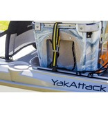 Yak-Attack Vertical Tie Down, Track Mount, 2 pack
