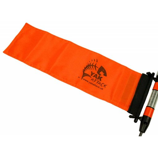 Yak-Attack 6 X 18 Orange ProGlo Flag Kit