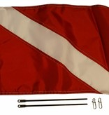 Yak-Attack Diver Down Flag Kit, 12'' x 18''