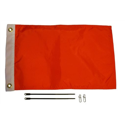 Yak-Attack 12'' x 18'' Flag Kit, Orange