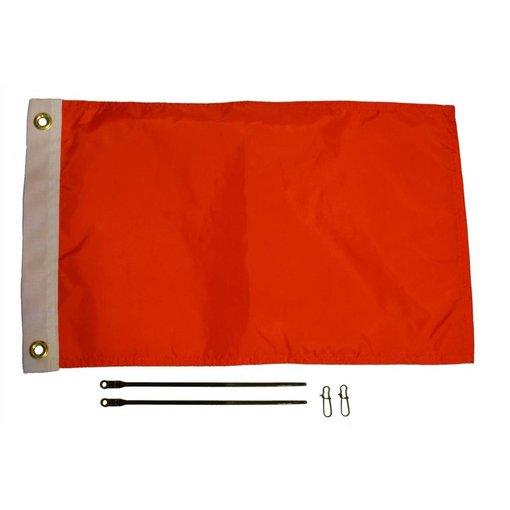 Yak-Attack 12 X 18 Orange Flag Kit