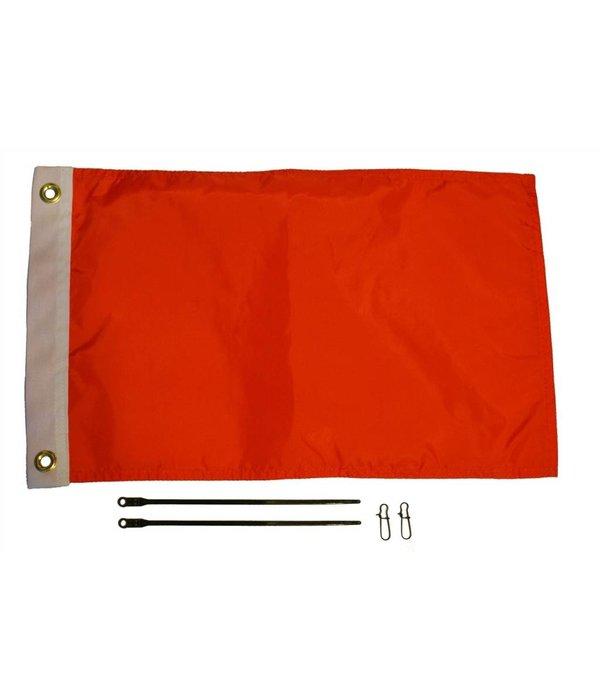 Yak-Attack 12'' x 18'' Flag Kit, Orange