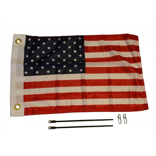 Yak-Attack American Flag Kit 12'' x 18''