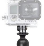 Yak-Attack (Discontinued) RAM Mounts GoPro Compatible, 1'' Composite Ball