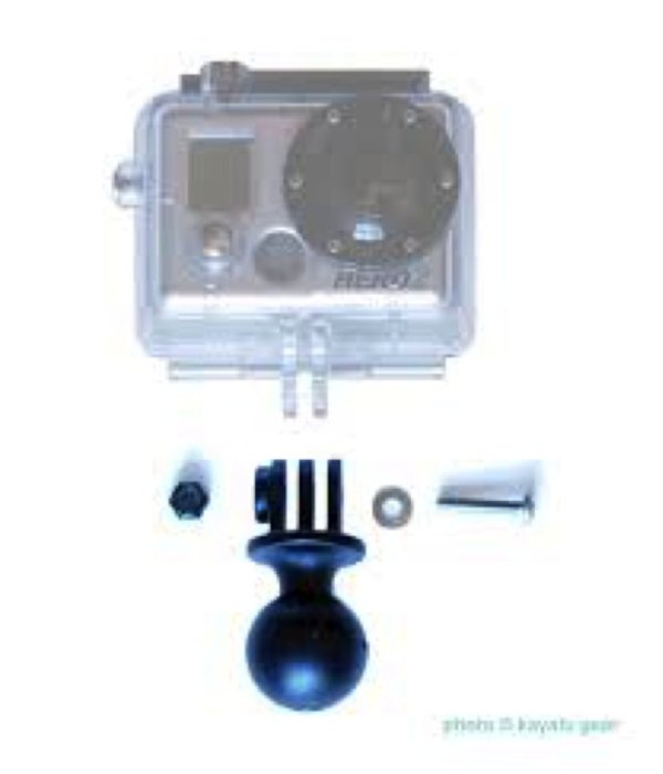 "RAM Mounts® GoPro Compatible, 1"" Composite Ball"