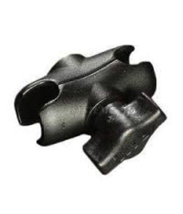 RAM Mounts® Short (2.5'') Composite, Double Socket Arm, for 1'' Ball Interface