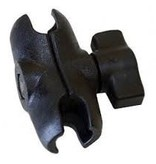 Yak-Attack (Discontinued) RAM Mounts Short (2.5'') Composite, Double Socket Arm, for 1'' Ball Interface