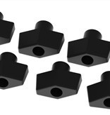 Yak-Attack Threaded Knobs, 1/4-20 Threads, 6 pack