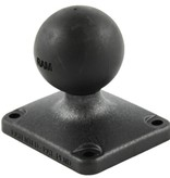 RAM Mounts® 2'' x 2.5'' Rectangle Composite Base with 1.5'' Ball
