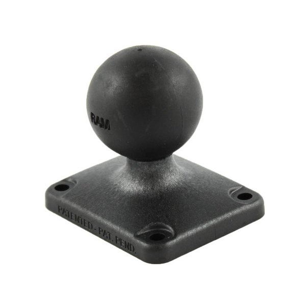 "2"" x 2.5"" Rectangle Composite Base with C Size 1.5"" Ball"