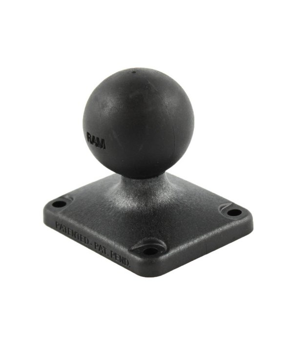 """RAM Mounts® 2"""" x 2.5"""" Rectangle Composite Base with C Size 1.5"""" Ball"""