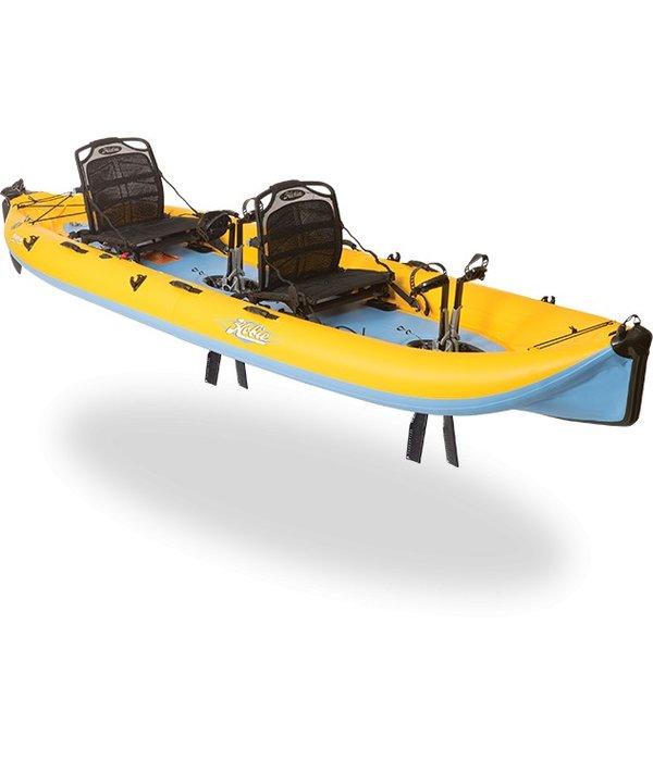 Hobie 2017 Mirage Inflatable i14T Mango/Slate (Prior Year Model)