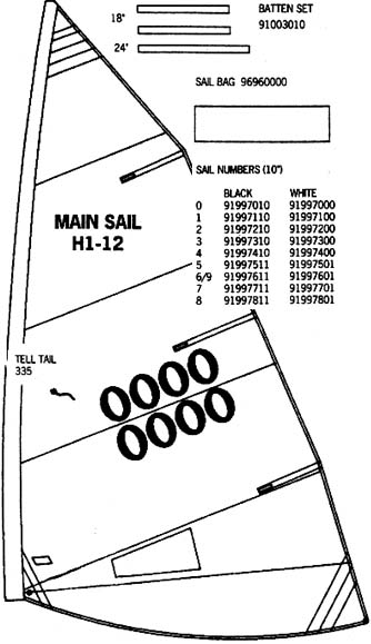 Hobie Sailboat Product Support - Mariner Sails - Mariner Sails