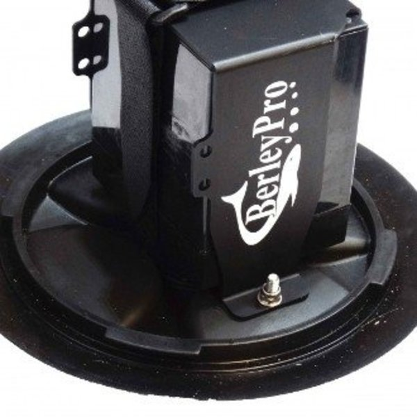 "6"" Round Hatch Battery Mount"