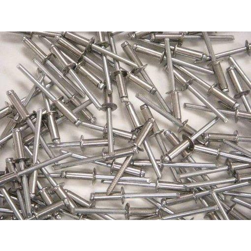 Hobie Rivet 3/16 X 3/8 Flat Aluminum