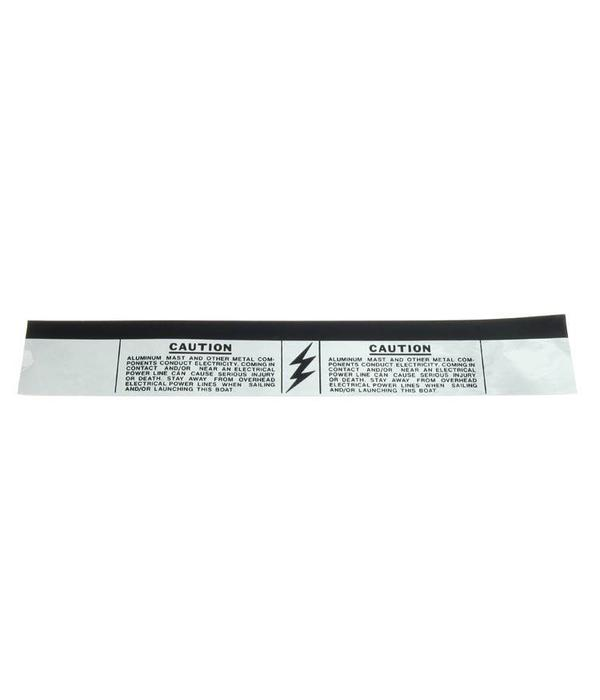 Hobie Mast Caution Band Black