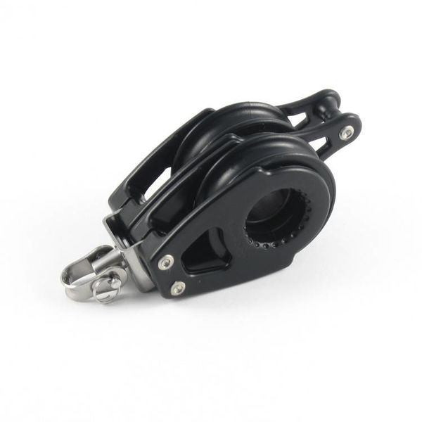 Block Double Swivel With Becket