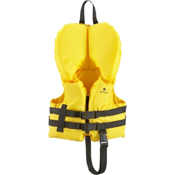 Infant / Toddler Fit, Yellow PFD