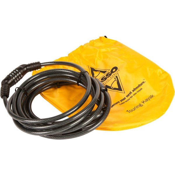 Lasso Security Cable: Sit-in Decked Kayaks