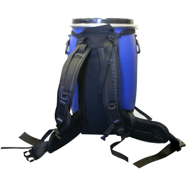 IMPROVED  - Dry Storage Barrel Harness:  60 Liter