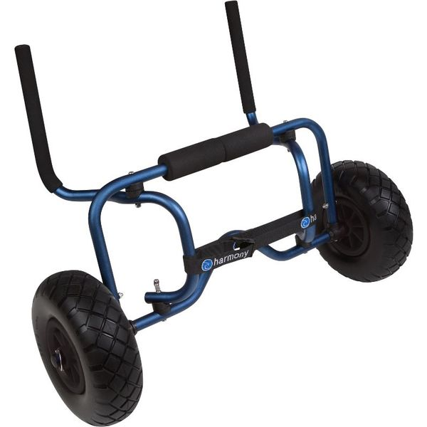 Sit On Top Boat Cart With Flat Free Wheels (Foam-Filled Tire)