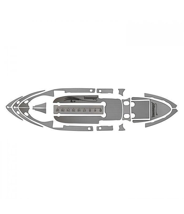 Diablo Paddlesports 6MM Deck Traction Kit for Amigo