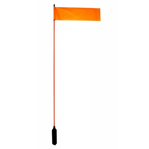 "Yak-Attack VISIFlag, 52"" tall mast with flag, Mighty Mount / GearTrac ready"