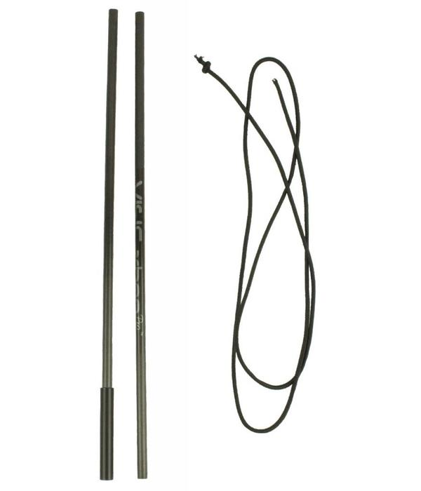 Yak-Attack VISICarbon Pro Mast Repair Kit, Includes both carbon tubes and replacement shock cord