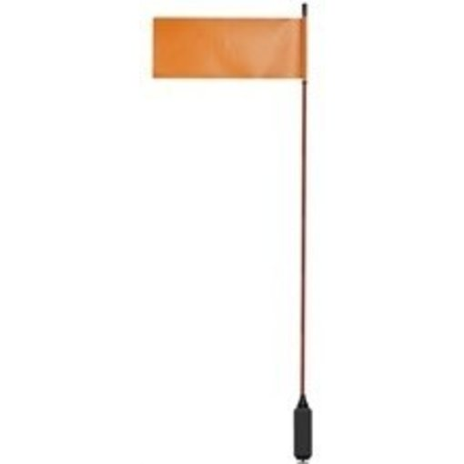 Yak-Attack VISIFlag, 52'' tall mast with flag, Includes Mighty Mount
