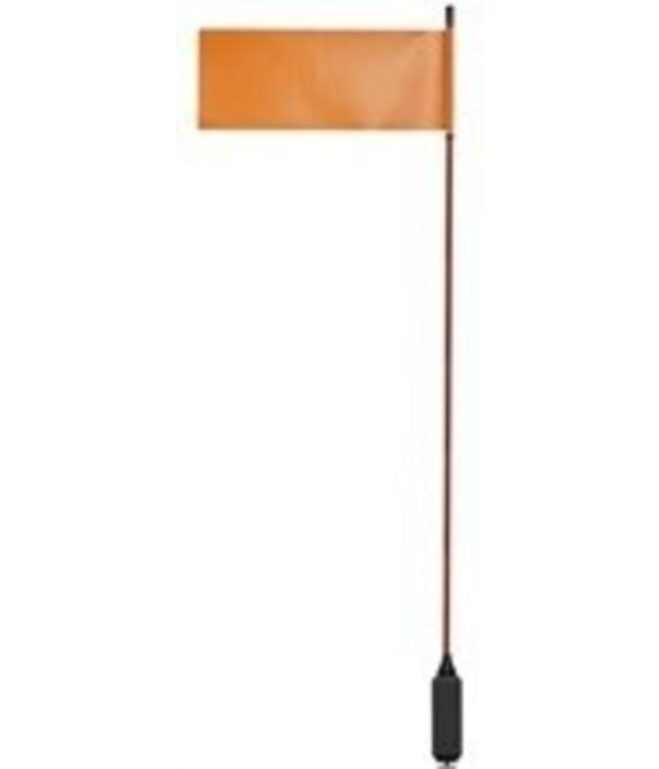 "Yak-Attack VISIFlag, 52"" tall mast with flag, Includes Mighty Mount"