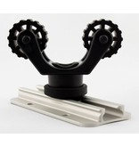 Yak-Attack RotoGrip Paddle Holder, Track Mount